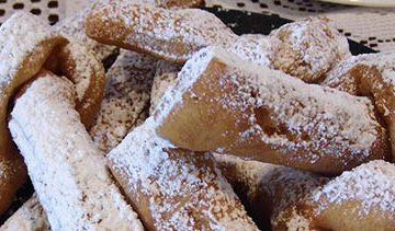 Khrustiki Russian Twig Cookies