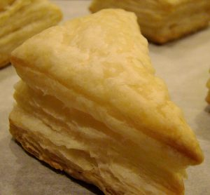 Puff pastry photo CC by Vegan Feast Catering