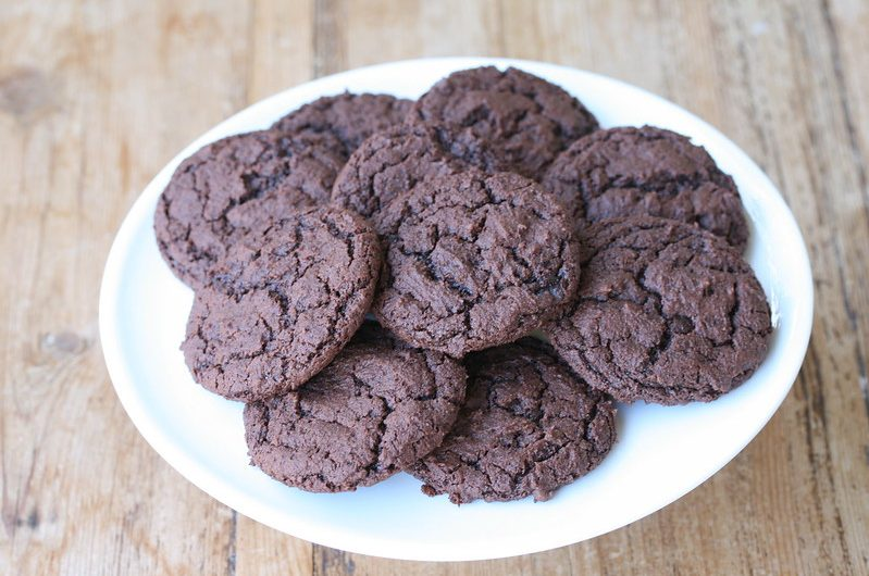 Saucepan Fudge Drop Cookies