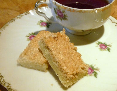 Almond Cookie Strips