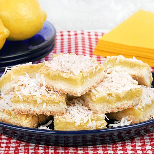 Coconut Lemon Lime Squares