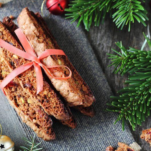 Festive Nutella Biscotti