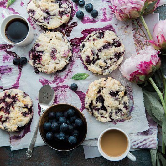 Wild Blueberry Cookies