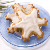 Ginger Walnut Cookies