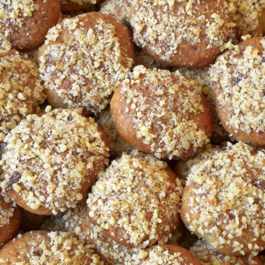 Greek Honey-Walnut Balls (Melomakarona)