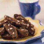 Low Fat Chocolate Biscotti