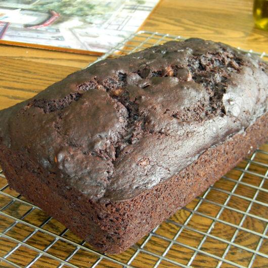 Audrey's Chocolate Zucchini Nut Bread