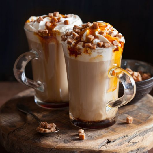 Hot Buttered Toffee Coffee