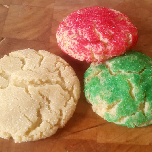 Sugar Cookie Crackles