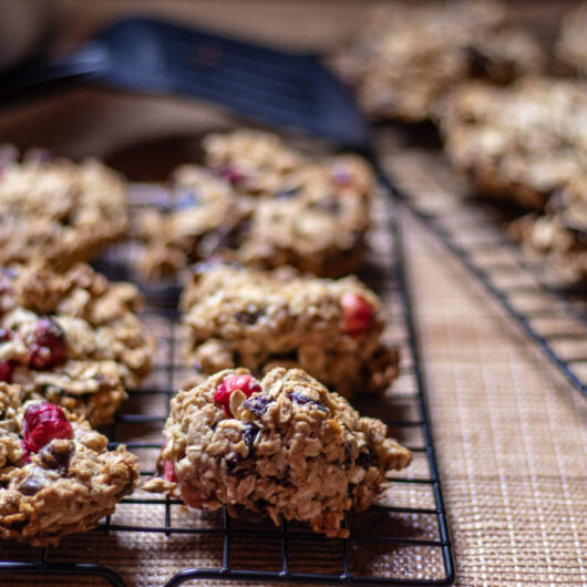 Cranberry Oatmeal Clusters