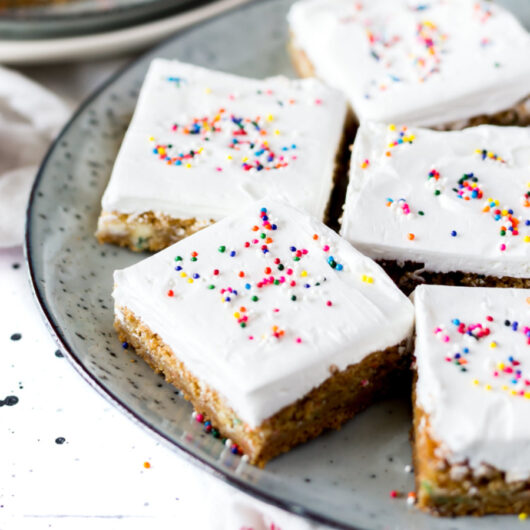 Frosted Oat Bars